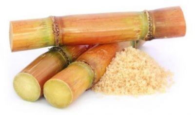 Strohhalm aus Zuckerrohr